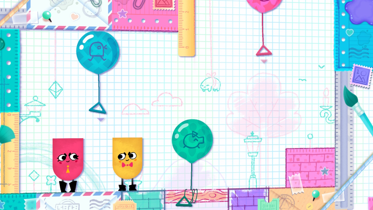 Snipperclips game screenshot
